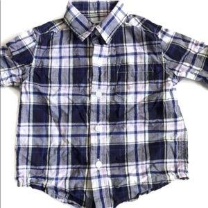 🎈Janie Jack Infant Shirt Long Sleeve Button Down